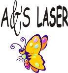Logo de a y s Laser - Topitos