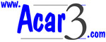Logo de Acar 3, especializada en mobiliario para hostelería y distribuidora en ámbito nacional.