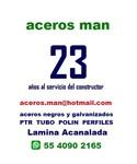 Logo de Aceros Man