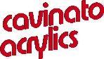 Logo di Cavinato acrylics