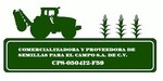 Logo de Comercializadora y proveedora de semillas para el campo S.A. de C.V.