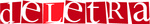Logo de deletra.es