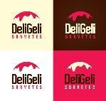 Logo de Deligeli sorvetes