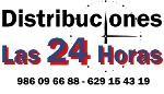 Logo de Distribuciones las 24 Horas del Noroeste, S.L.