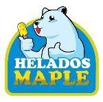 Logo de Helados Maple