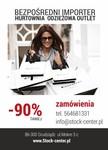 HURTOWNIA ODZIEZY OUTLET / WWW.STOCK-CENTER.PL
