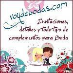 Logo de Invitaciones y detalles Voy de Boda