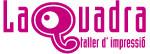 Logo de La Quadra. Taller de impresión
