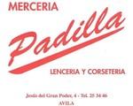 Logo de merceria padilla