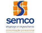 Logo de SEMCO Displays e Expositores Portáteis