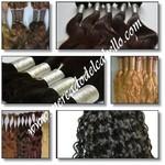Logo de SoloPeloNatural - suministro de extensiones de cabello de pelo natural y pelucas