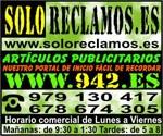 Logo de Soloreclamos