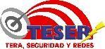 Logo de Teser, tera seguridad y redes